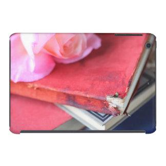 Libros del rojo del vintage fundas de iPad mini retina