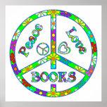 Libros del signo de la paz posters