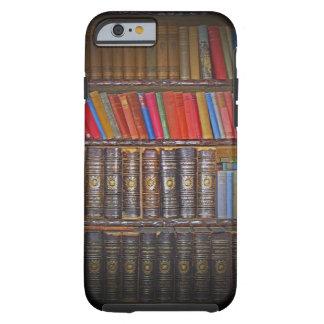 Libros del vintage funda de iPhone 6 tough