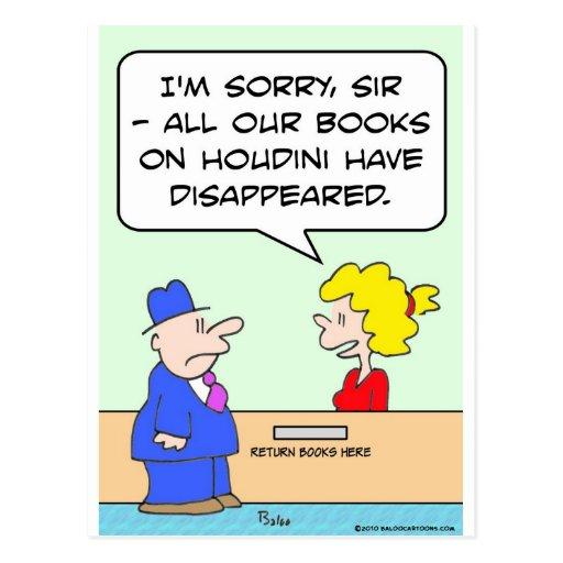 libros en bibliotecario de la biblioteca del tarjetas postales