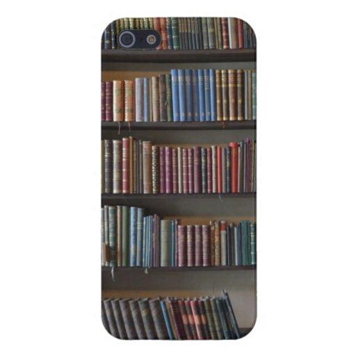 Libros en caso del iPhone 5 de la cubierta del est iPhone 5 Carcasas