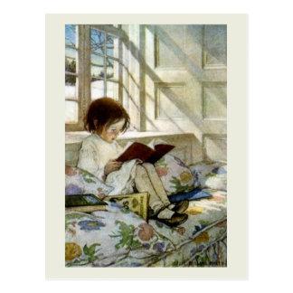 """""""Libros en invierno """" Postales"""