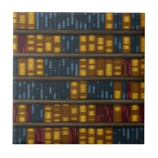 Libros, libros, libros - modelo del estante tejas