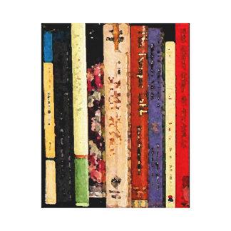 Libros Impresiones De Lienzo