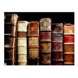 Libros obligatorios de cuero del diseño del siglo postal