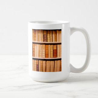 Libros obligatorios de cuero del siglo XVII Taza De Café