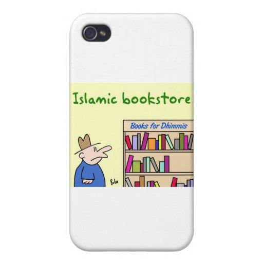 libros para la librería islámica de los dhimmis iPhone 4/4S fundas