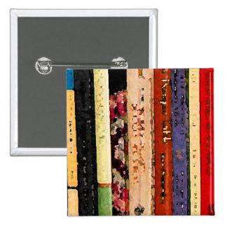 Libros Pin Cuadrada 5 Cm