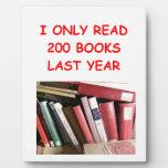 libros placas con fotos