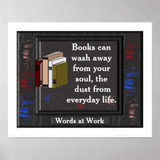 Libros - poster de la lectura