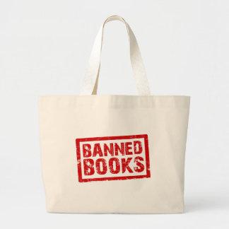 Libros prohibidos bolsas de mano