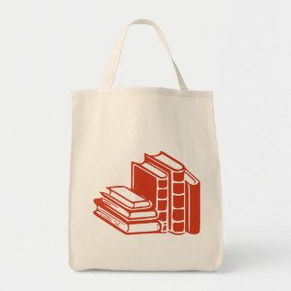 Libros rojos bolsas de mano