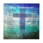 Libros sagrados de la biblia del nuevo testamento tejas  ceramicas