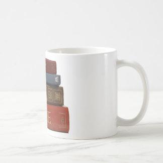 LIBROS tan muchos libros tan poca hora Taza De Café
