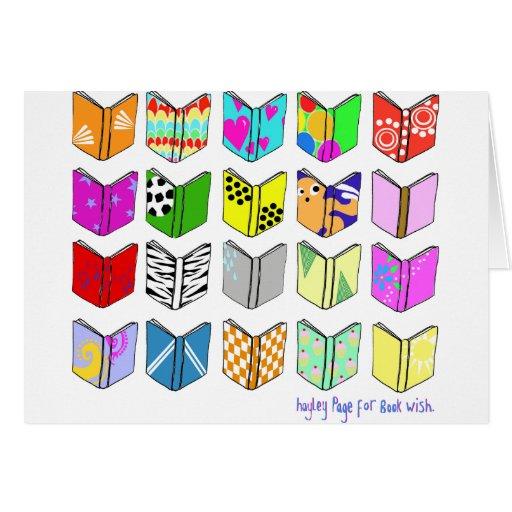 ¡Libros! Tarjeta