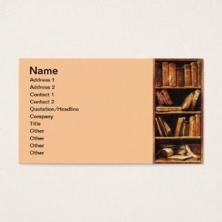 Libros Tarjeta De Negocios
