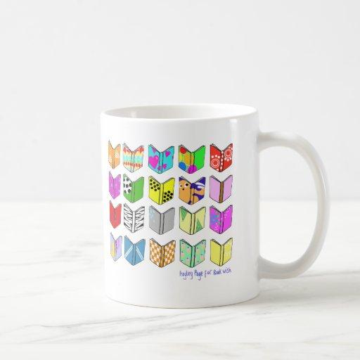 ¡Libros! Taza Clásica