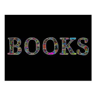 Libros: un diseño para los aficionados a los tarjetas postales