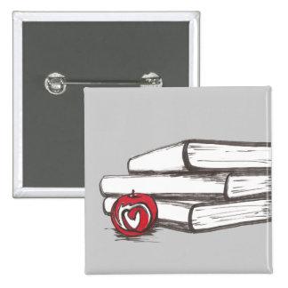 Libros + Un personalizable del Pin el | de Apple e Pin Cuadrada 5 Cm