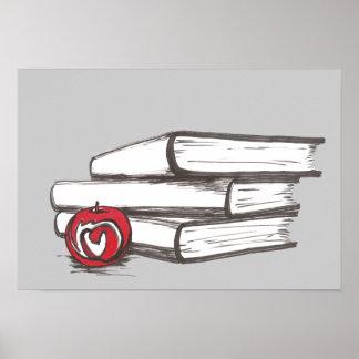 Libros + Un personalizable del poster el | de Appl