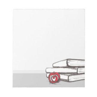 Libros + Una libreta adaptable de Apple el | Libreta Para Notas
