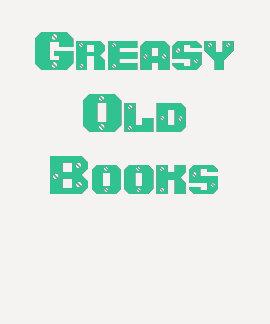 Libros viejos grasientos playeras