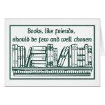 Libros y amigos felicitaciones