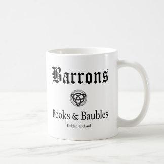 Libros y chucherías de Barrons taza de 11 onzas