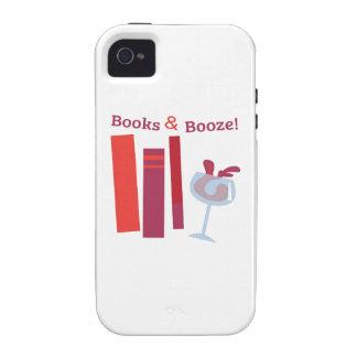 ¡Libros y licores! Case-Mate iPhone 4 Carcasa