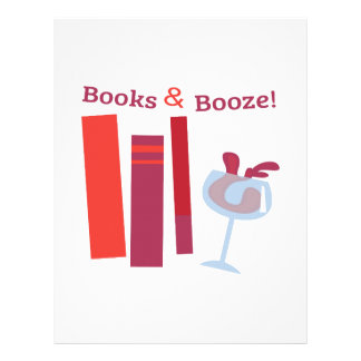 ¡Libros y licores! Membretes Personalizados