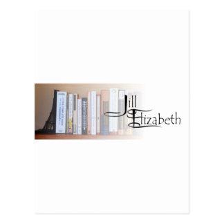 Libros y logotipo de J-E Postal
