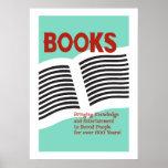 Libros y poster de la lectura