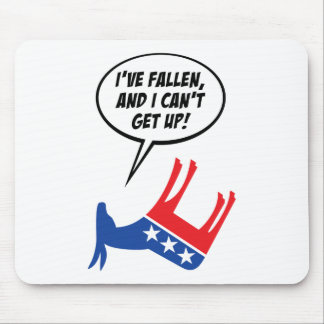 Libs Have Fallen And Can't Get Up! Mouse Pad