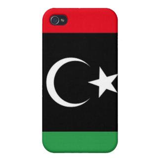 Libya 2011 National Flag Case For iPhone 4