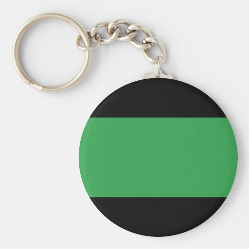 Libya Flag Basic Round Button Keychain