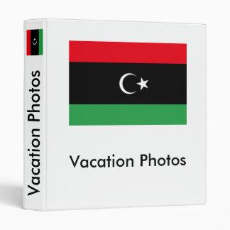 Libya Flag Vinyl Binders