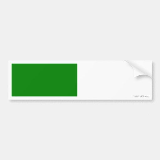Libya Flag Car Bumper Sticker