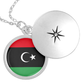 Libya Flag Necklace