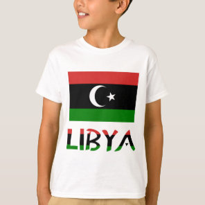 Libya Flag & Word T-Shirt