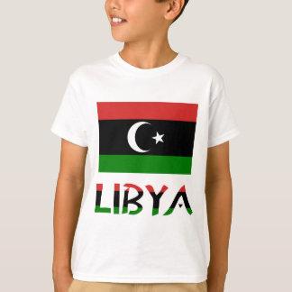 Libya Flag & Word T-Shirt