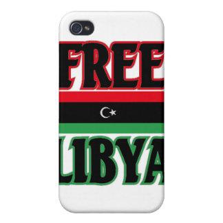 Libya - Free Libya ليبيا الحرة iPhone 4 Covers