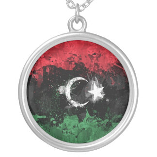 Libya Free neckles Round Pendant Necklace