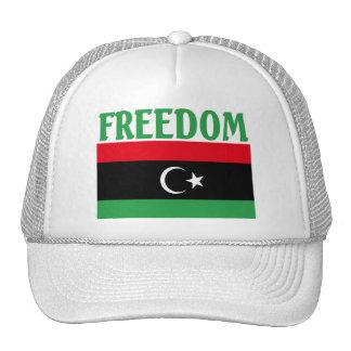 Libya Freedom Flag Hat