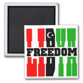 Libya Freedom Magnet