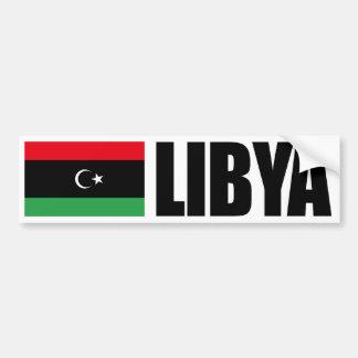 Libya Independence Flag Bumper Sticker