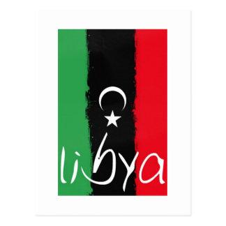 """Libya"" Kingdom of Libya Flag (1951-1969) Postcard"