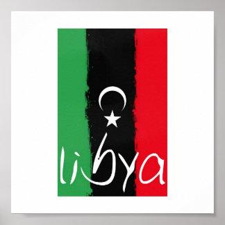 """Libya"" Kingdom of Libya Flag (1951-1969) Poster"