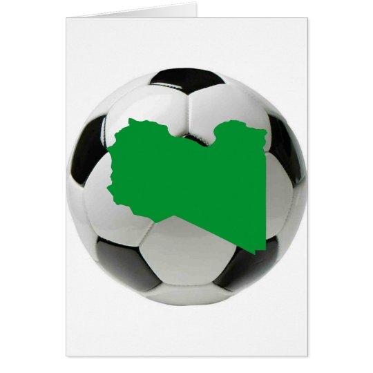 Libya national team card