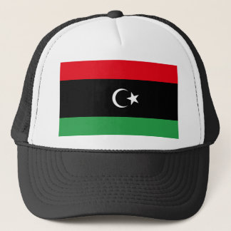 Libya National World Flag Trucker Hat