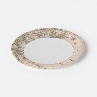 Libya Paper Plate